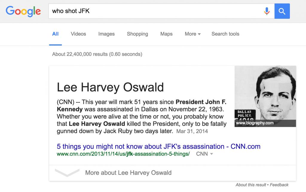 google semantic search snippet