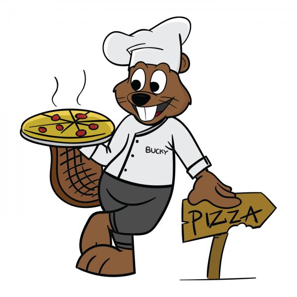 Bucky Beaver Gianni's Pizza