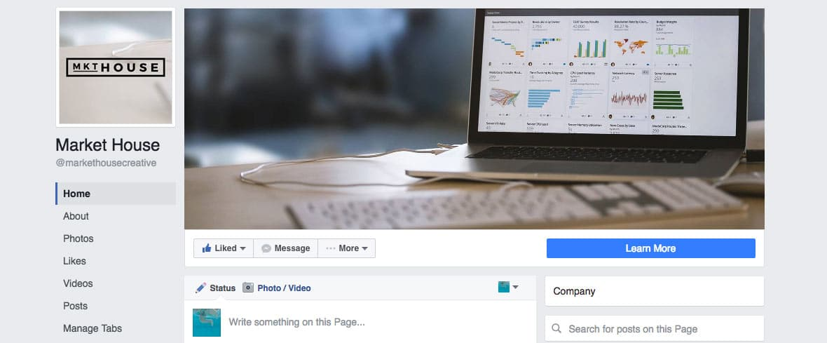 Facebook's Page New Layout